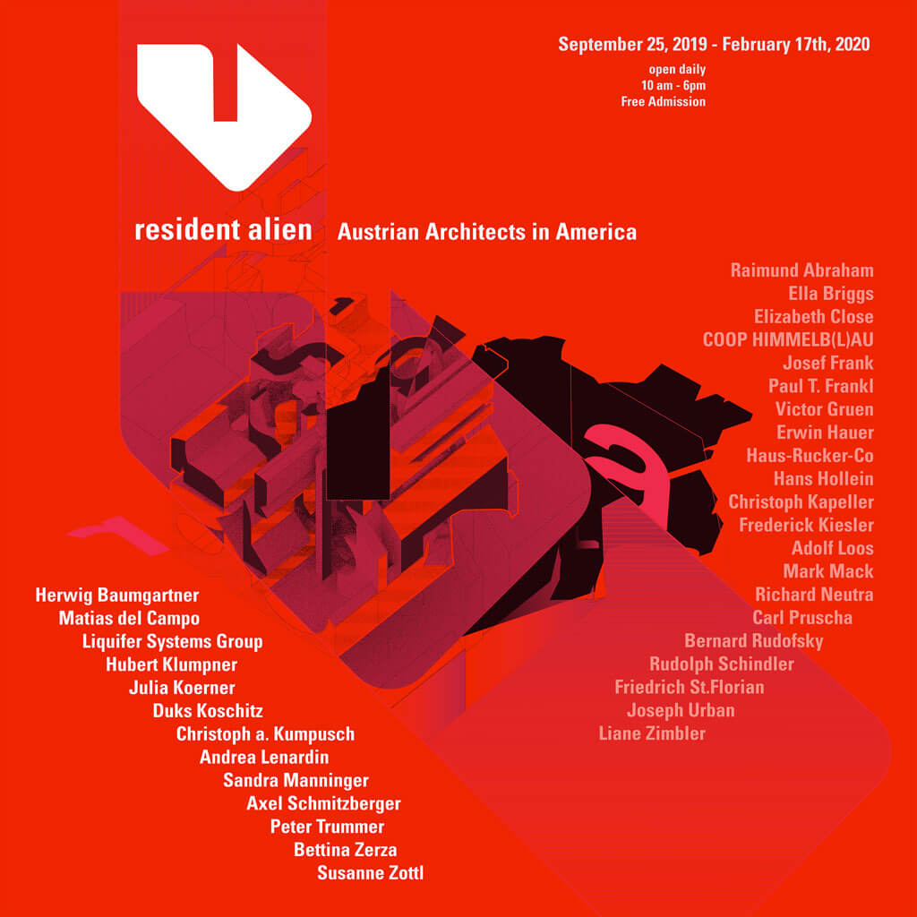 Resident Alien: Austrian Architects in America Poster