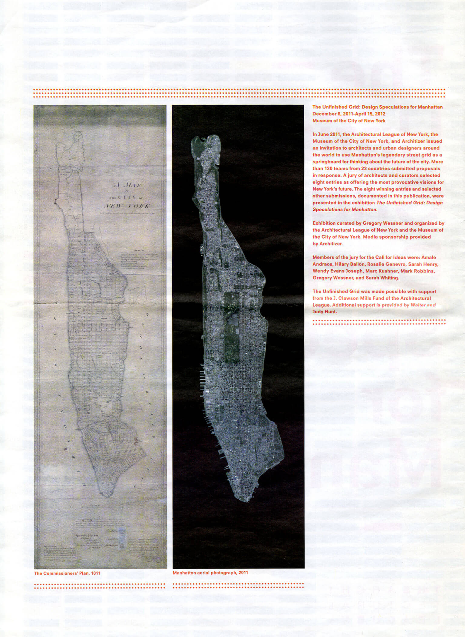 The Unfinished Grid: Design Speculations For Manhattan Map