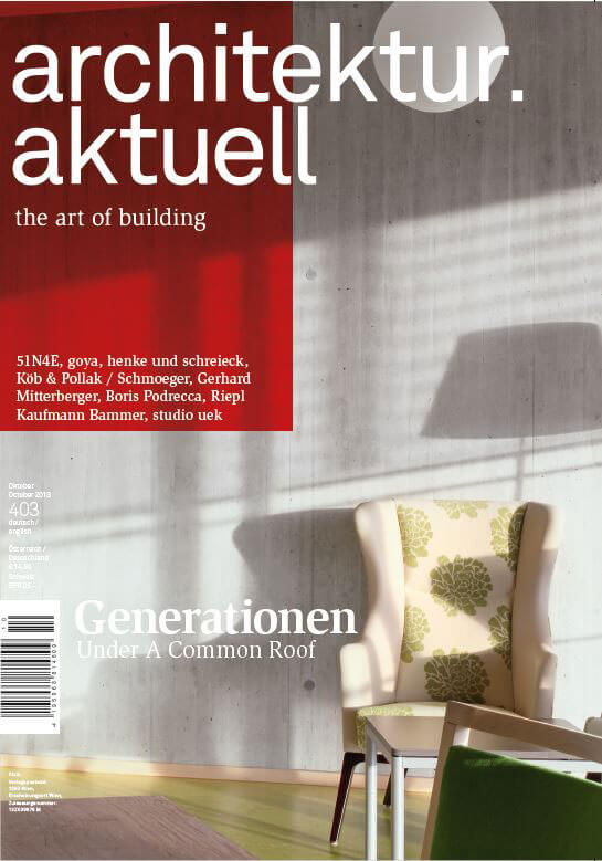 Architektur Aktuell 2013 Magazine Cover