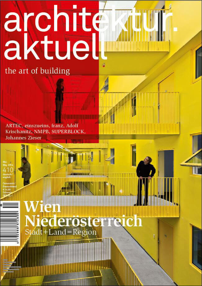 Architektur Aktuell 2014 Magazine Cover