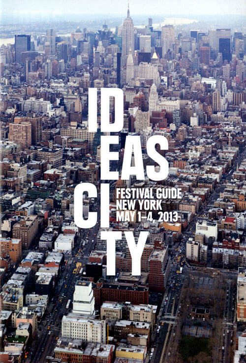 New Museum Ideas City Festival Guide Cover